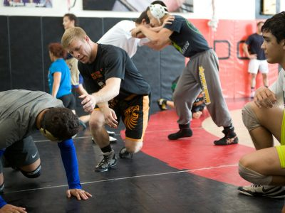 2 week wrestling camps