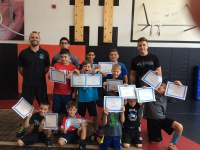 kids wrestling camps Hudson County